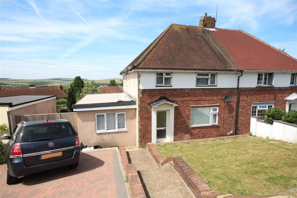4 Bedrooms Semi Detached House for sale in Rotherfield Crescent, Hollingbury, Brighton