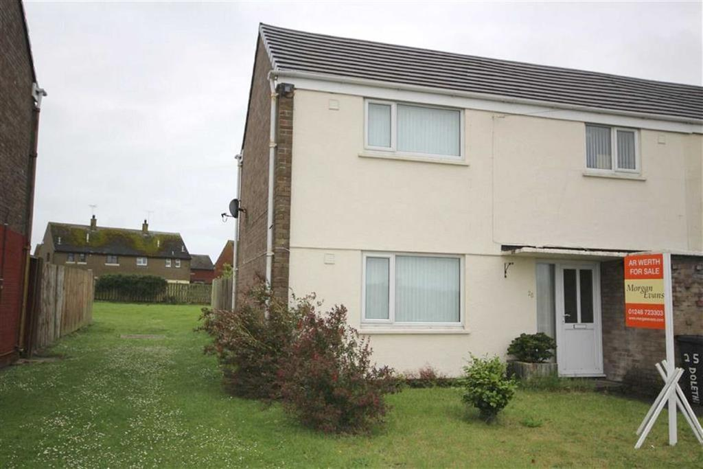 3 Bedrooms Terraced House for sale in Dol Eithin, Valley, Anglesey, LL65