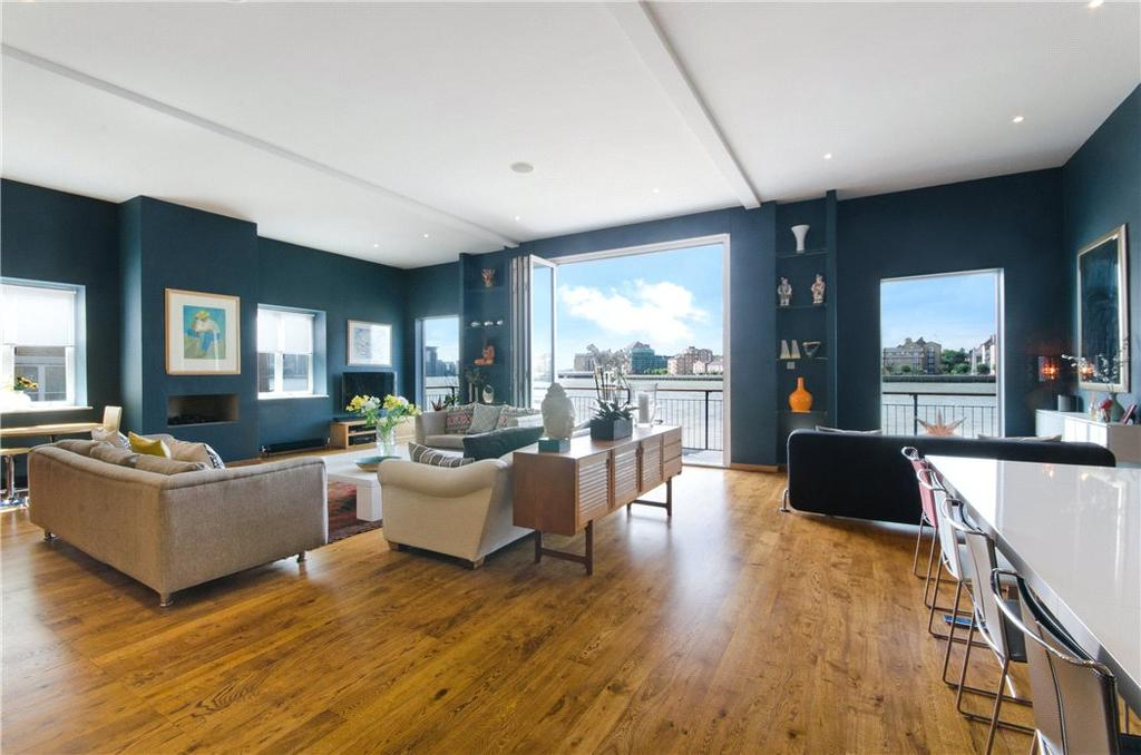 3 Bedrooms Flat for sale in Barge Wharf, 94A Narrow Street, Limehouse, London, E14