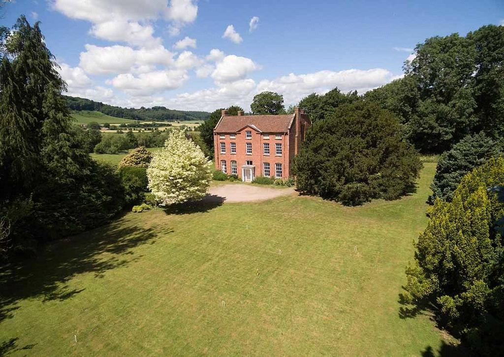 6 Bedrooms Detached House for sale in Shelsley Beauchamp, Worcester, Worcestershire, WR6