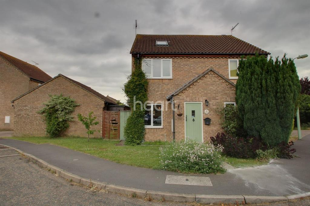 3 Bedrooms Semi Detached House for sale in Reeds Way, Stowupland.
