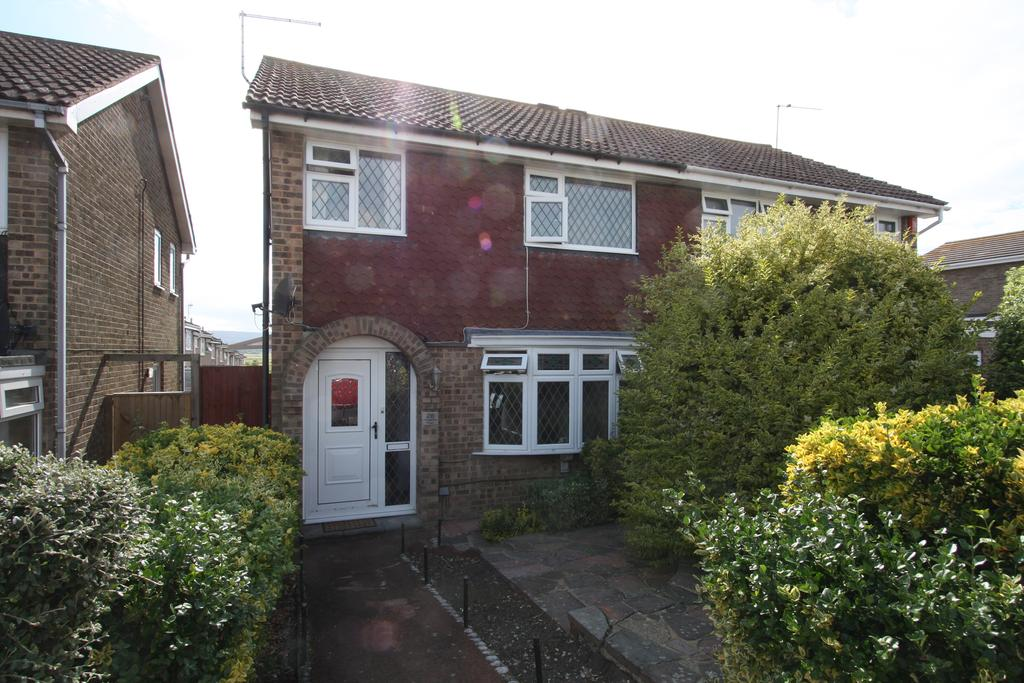 3 Bedrooms Semi Detached House for sale in Hogarth Road, Eastbourne BN23