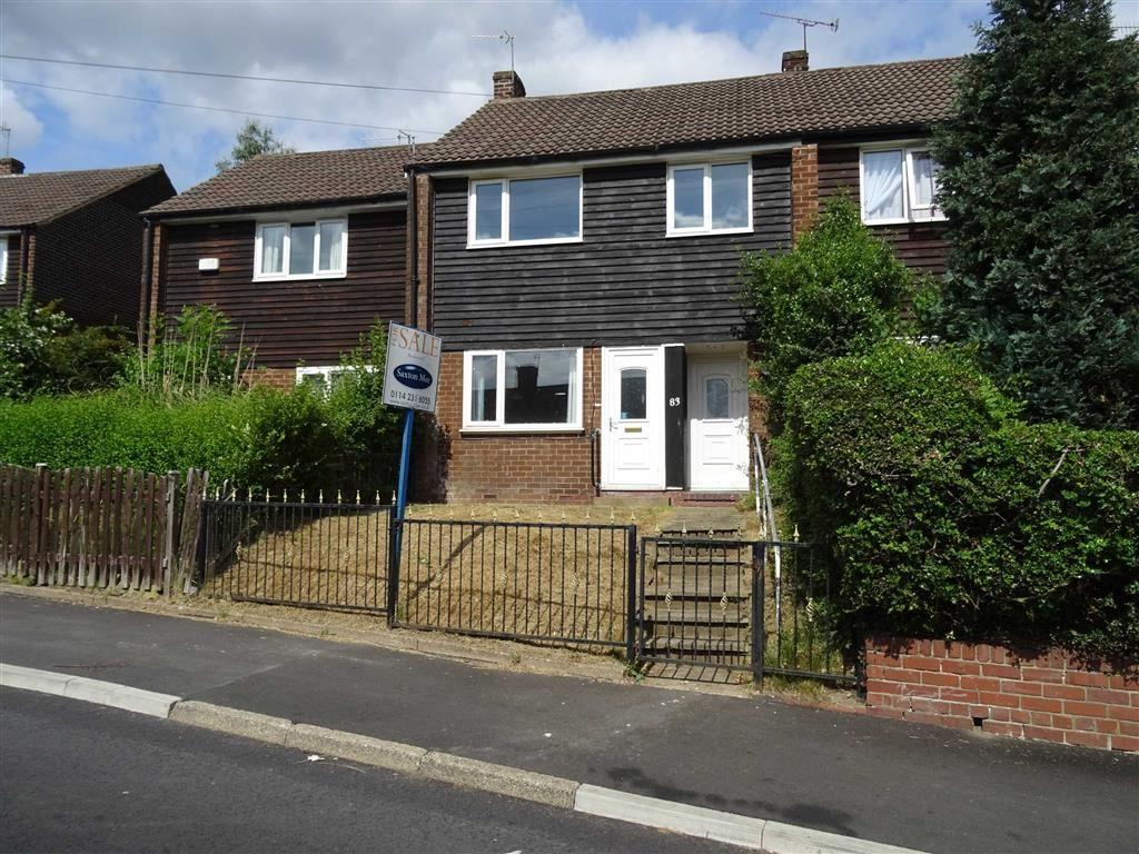 3 Bedrooms Terraced House for sale in Keats Road, Fox Hill, Sheffield, South Yorkshire, S6