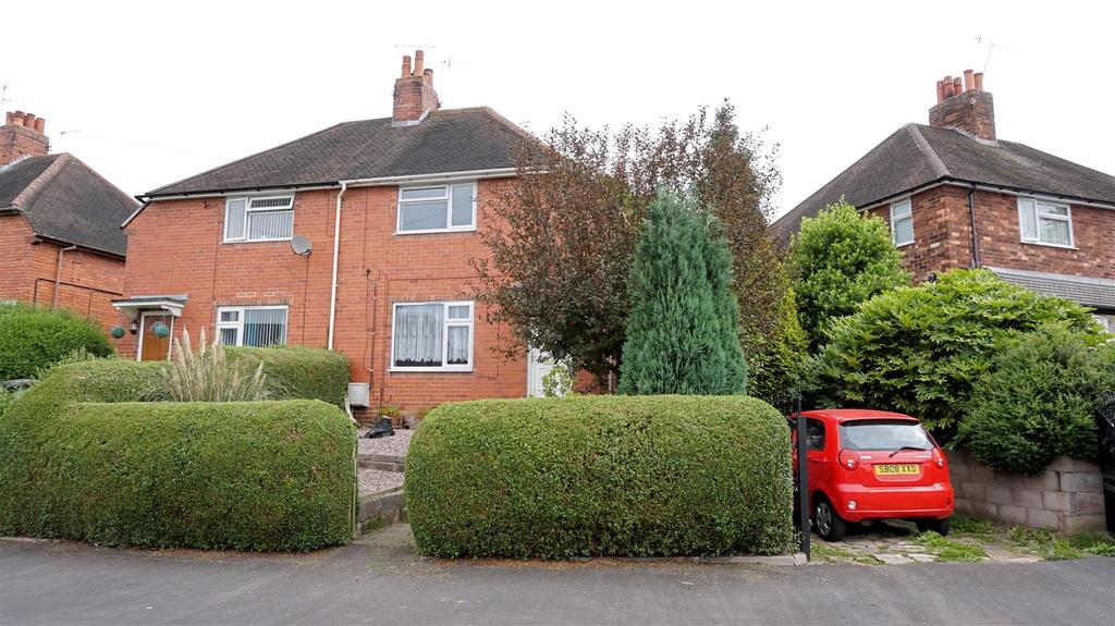2 Bedrooms Semi Detached House for sale in Camillus Road, Knutton, Newcastle, Staffs
