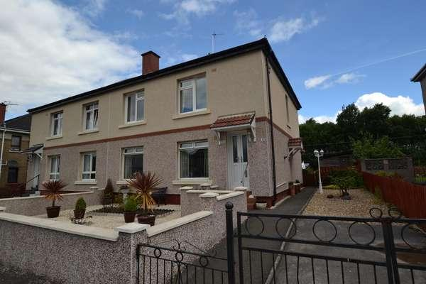 2 Bedrooms Flat for sale in 180 Ladykirk Drive, Cardonald, Glasgow, G52 2NX