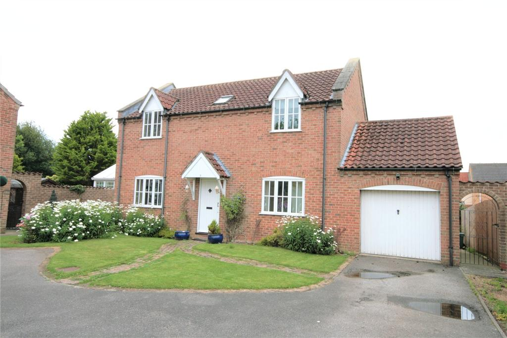 4 Bedrooms Detached House for sale in Holmes Way, Wragby, LN8