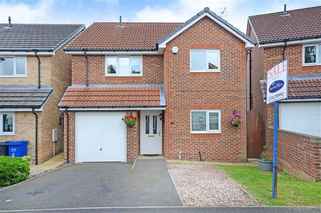 4 Bedrooms Detached House for sale in 10, Booker Close, Inkersall, Chesterfield, Derbyshire, S43