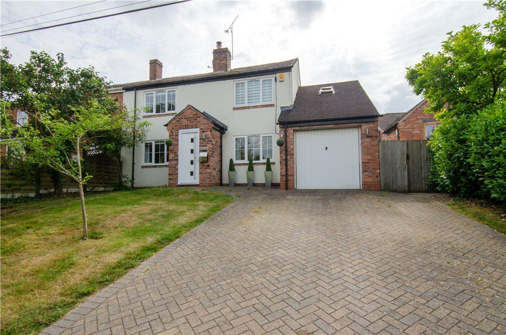 3 Bedrooms Semi Detached House for sale in Marlbrook Lane, Sale Green, Droitwich, Worcestershire, WR9