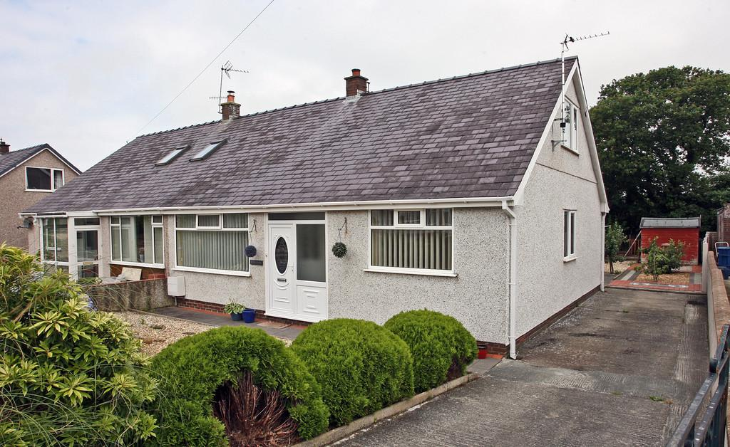4 Bedrooms Semi Detached Bungalow for sale in Tan Y Buarth Estate, Bethel, North Wales