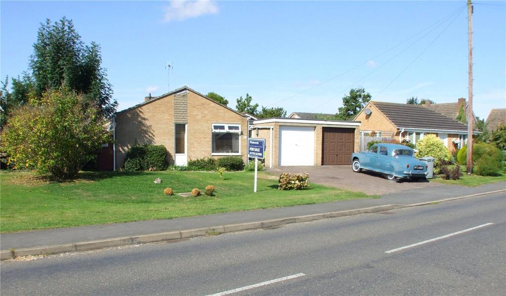 3 Bedrooms Detached Bungalow for sale in Broadgate Lane, Deeping St. James, Peterborough, PE6
