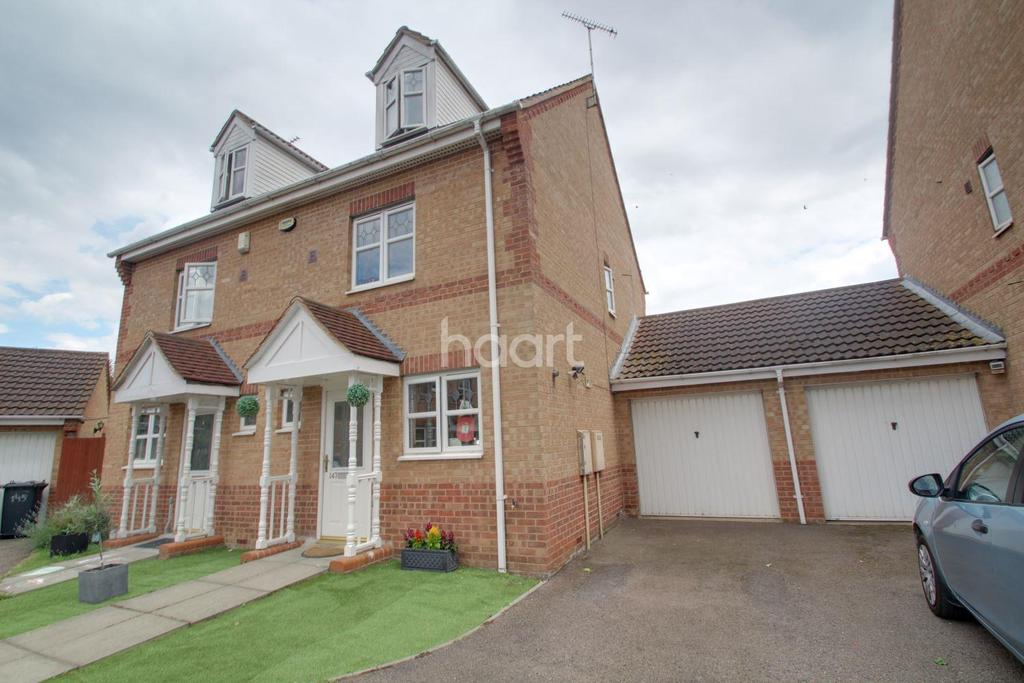 3 Bedrooms Semi Detached House for sale in Meadenvale, Peterborough