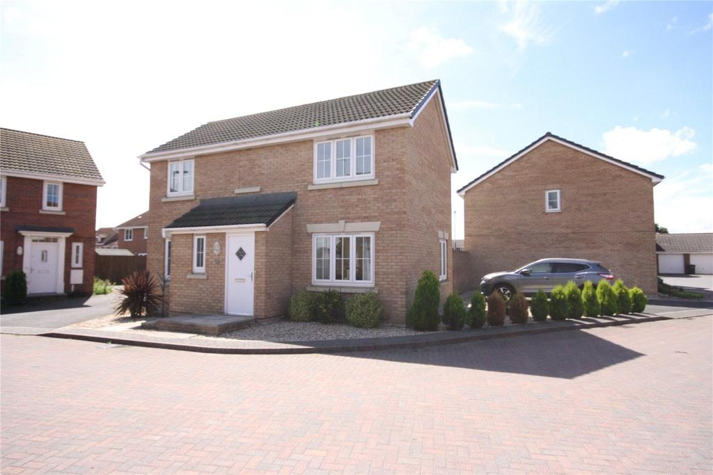 3 Bedrooms Detached House for sale in Magnus Court, North Hykeham, Lincoln, Lincolnshire, LN6