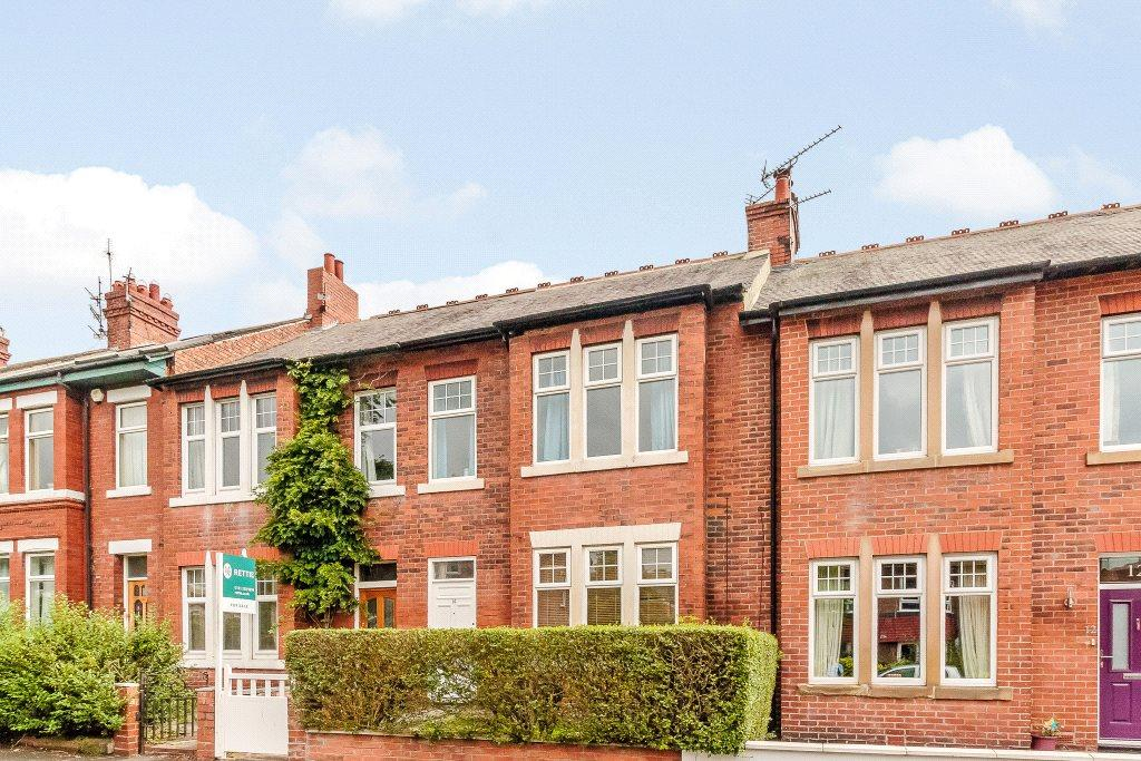 4 Bedrooms Terraced House for sale in Hyde Terrace, Gosforth, Newcastle Upon Tyne, Tyne Wear