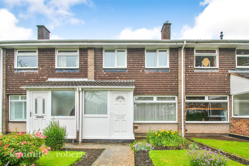 2 Bedrooms Terraced House for sale in Crimdon Grove, Houghton le Spring, Tyne and Wear, DH4