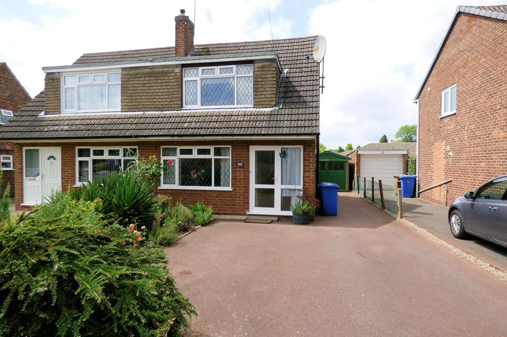 3 Bedrooms Semi Detached House for sale in Birchover Way, Allestree