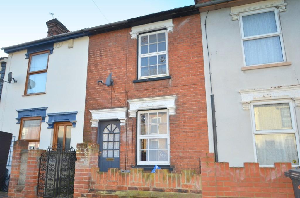 2 Bedrooms Terraced House for sale in Rendlesham Road, Ipswich, Suffolk, IP1 2LX