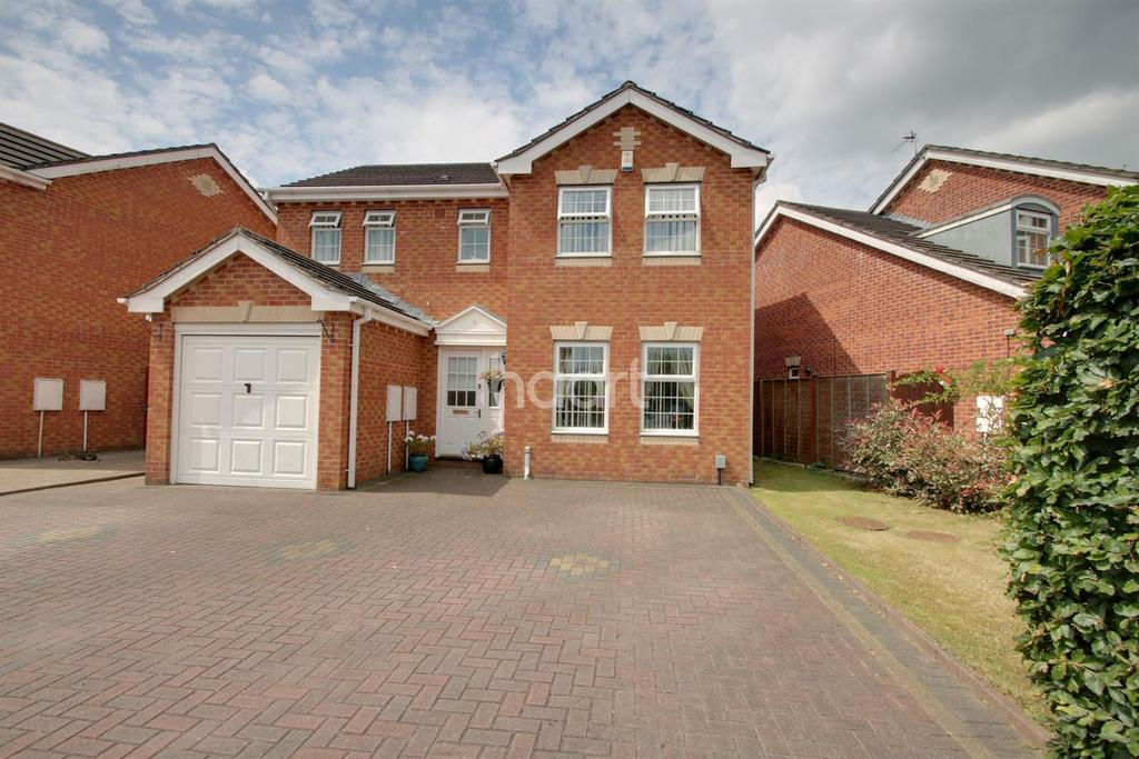 4 Bedrooms Detached House for sale in Clipper Close, The Moorings, St Julians, Newport
