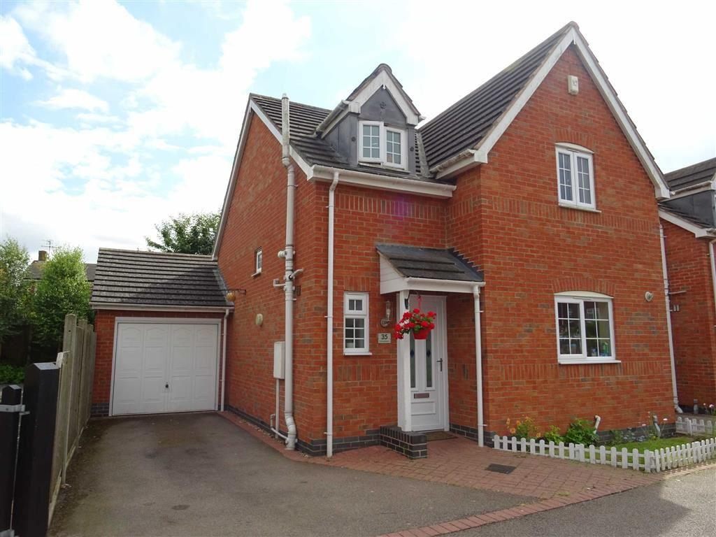 3 Bedrooms Detached House for sale in Leicester Road, Sapcote