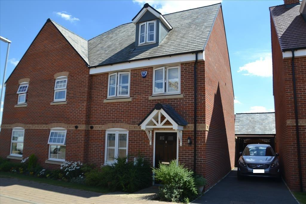 4 Bedrooms Semi Detached House for sale in Somerville Croft, Biggleswade, SG18