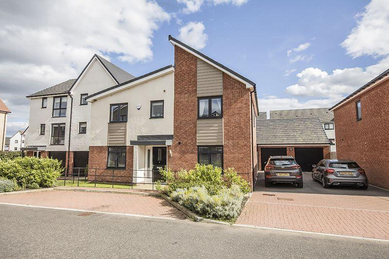 4 Bedrooms Detached House for sale in Leasingthorne Way, Brunton Village