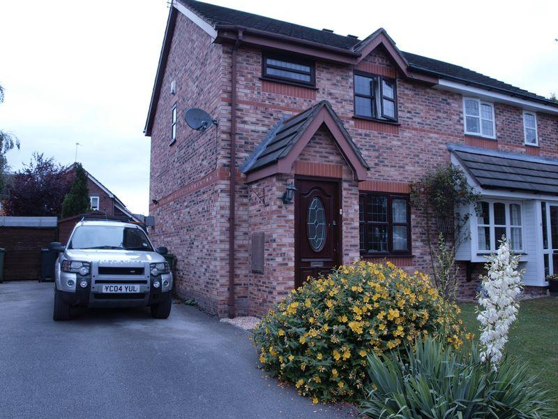 3 Bedrooms Semi Detached House for sale in Brackenfield Way, Winsford, CW7 2UX