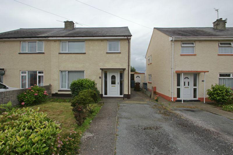 3 Bedrooms Semi Detached House for sale in Caernarfon, Gwynedd