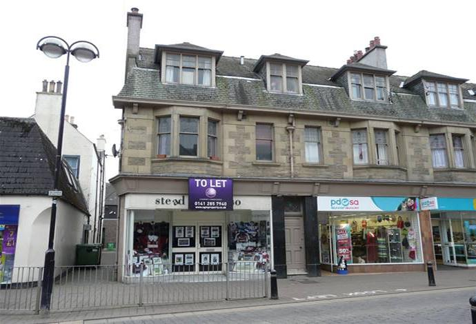 3 Bedrooms Flat for sale in 66a Channel Street, Galashiels, TD1 1BA