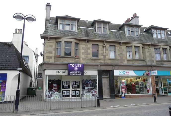 3 Bedrooms Flat for sale in 66a Channel Street, Galashiels, TD1 1BA