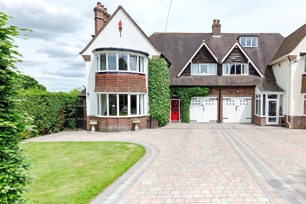 4 Bedrooms Semi Detached House for sale in Longwood Road, Aldridge