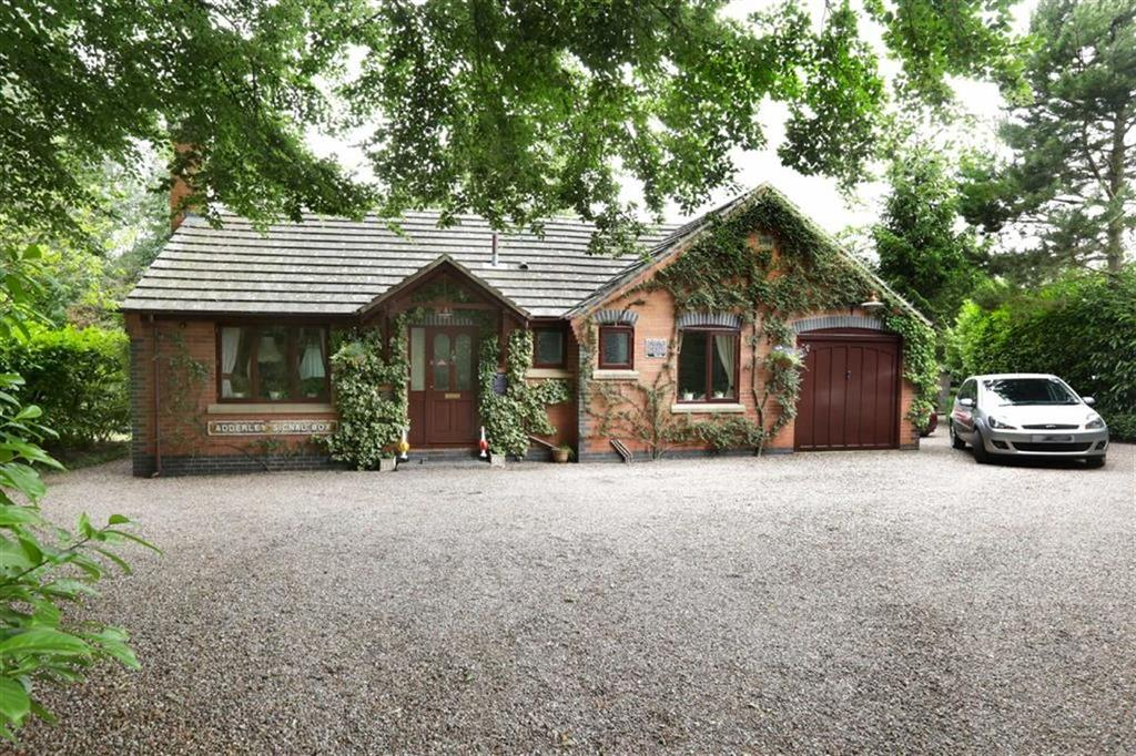 3 Bedrooms Detached Bungalow for sale in Whitchurch Road, Audlem Crewe, Cheshire