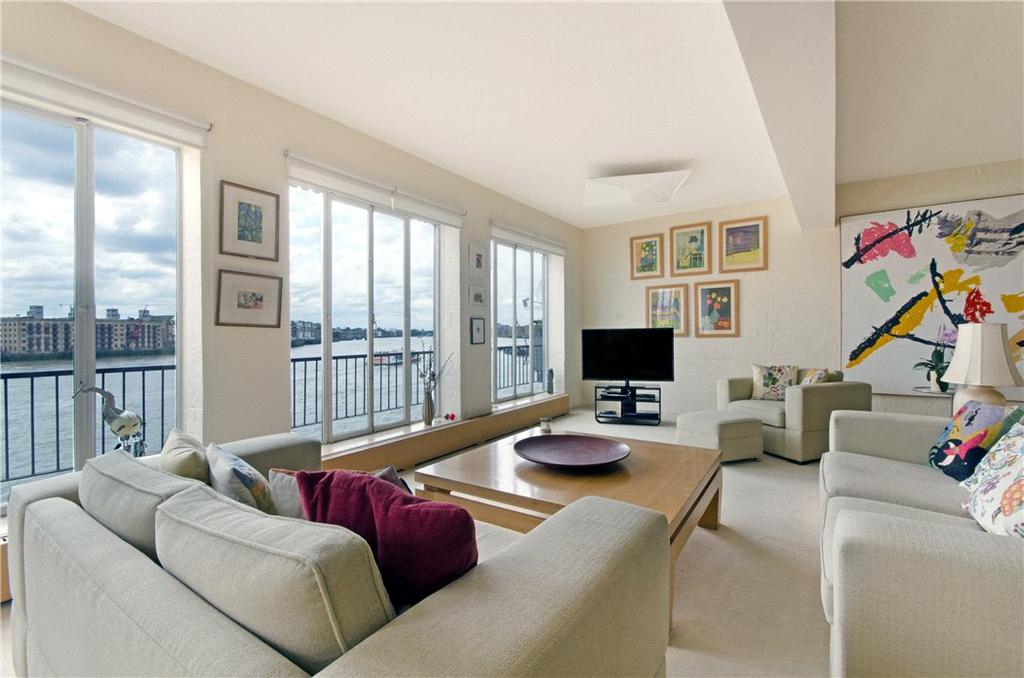 2 Bedrooms Flat for sale in Ratcliffe Wharf, 18 Narrow Street, Limehouse, London, E14