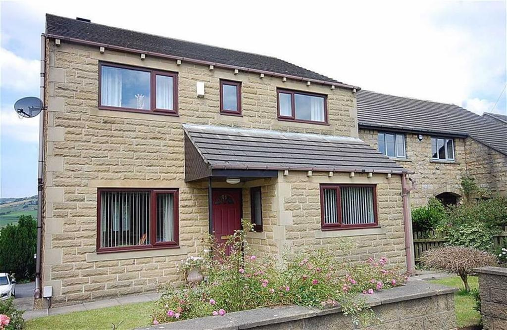 4 Bedrooms Detached House for sale in Broad Oak, Linthwaite, Huddersfield, HD7