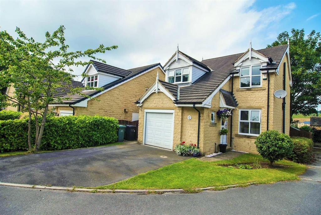 4 Bedrooms Detached House for sale in Kenyon Bank, Denby Dale, Huddersfield, HD8 8TD