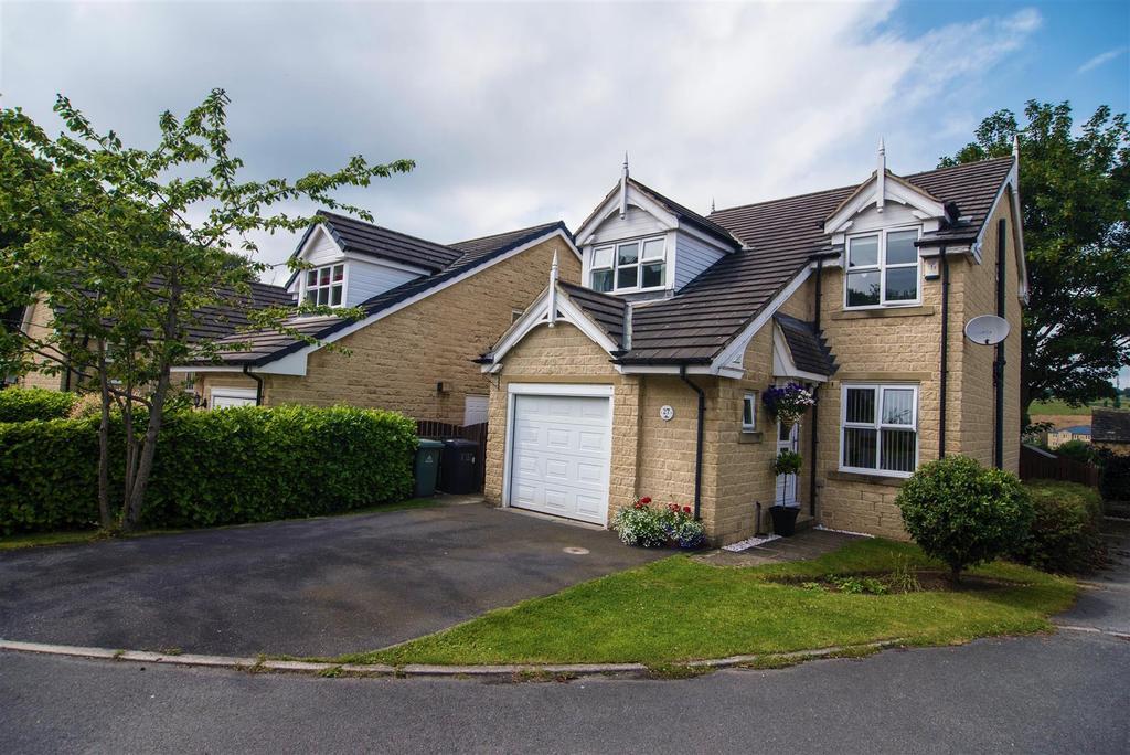 4 Bedrooms Detached House for sale in Kenyon Bank, Denby Dale, Huddersfield, HD8 8TD