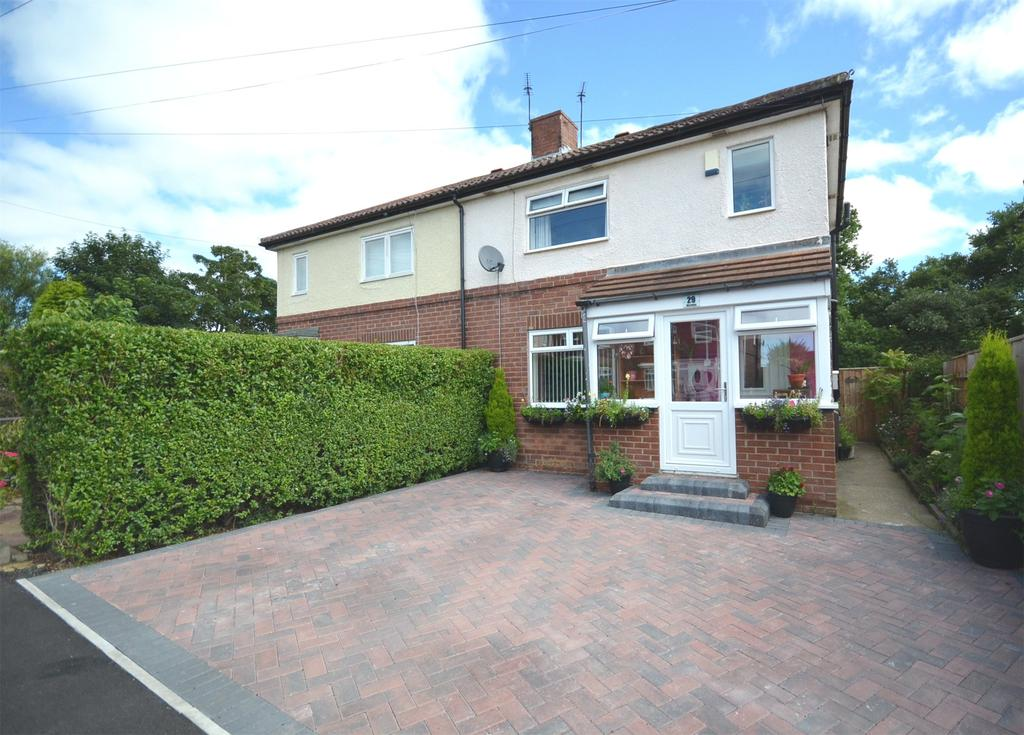 2 Bedrooms Semi Detached House for sale in Throckley