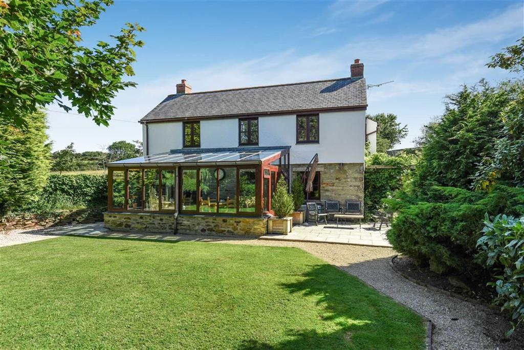 4 Bedrooms Detached House for sale in Penhallow, Truro, Cornwall, TR4