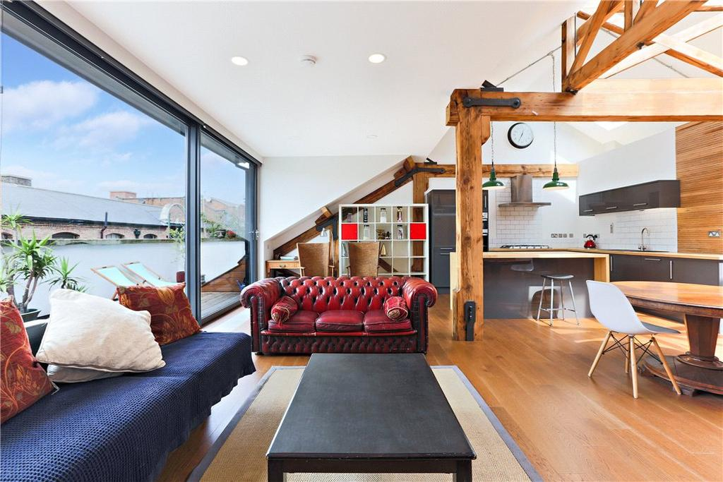 3 Bedrooms Penthouse Flat for sale in Fawe Street, Poplar, London, E14