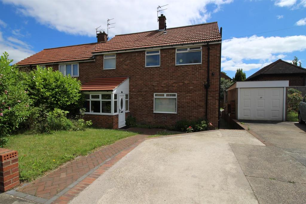 3 Bedrooms Semi Detached House for sale in Beal Way, Newcastle Upon Tyne
