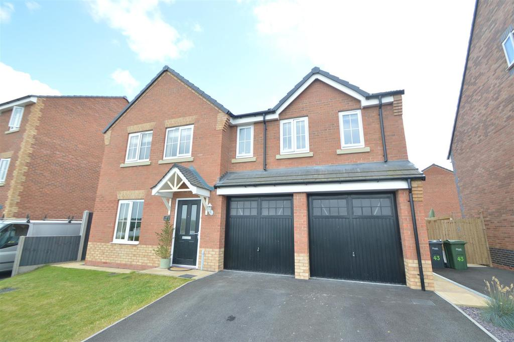 5 Bedrooms Detached House for sale in 41 Murrell Way, Shrewsbury, SY2 6FN