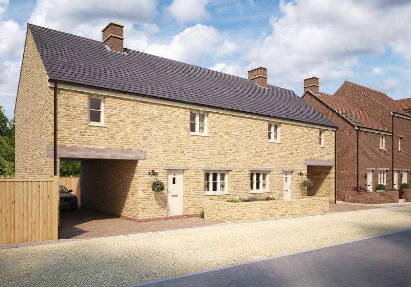 3 Bedrooms Semi Detached House for sale in Plot 16, The Old Printworks, Longwall, Brackley, Northamptonshire