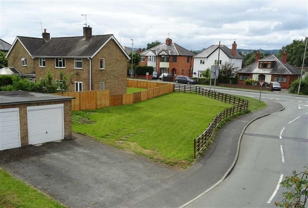 3 Bedrooms Land Commercial for sale in Single Building Plot At Old Police Houses, St Martins Road, Gobowen, Oswestry, Shropshire, SY11