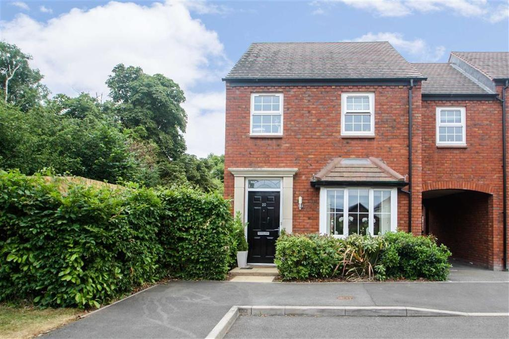 4 Bedrooms Link Detached House for sale in Pearmain Drive, HOLMER, Hereford