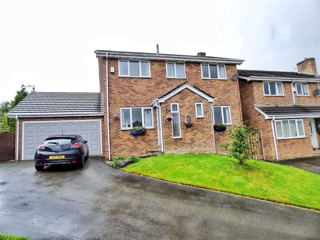 4 Bedrooms Detached House for sale in Bramble Bank, Glossop, SK13