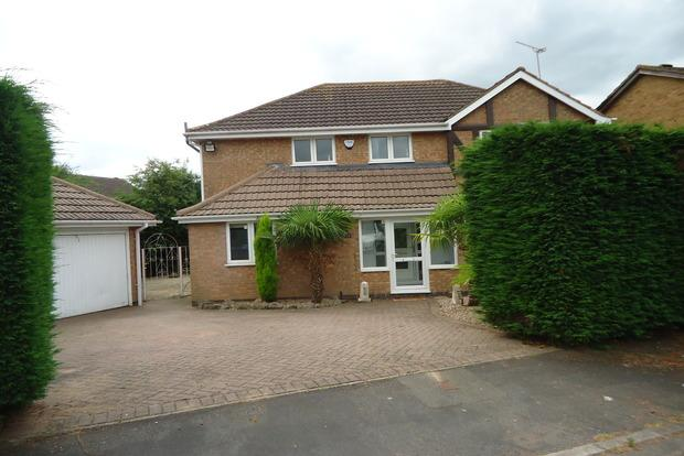 3 Bedrooms Detached House for sale in Quorndon Rise, Groby, Leicester, LE6