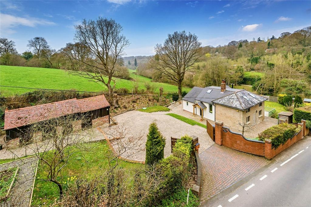 3 Bedrooms Detached House for sale in Borle Mill Cottage, Netherton, Highley, Bridgnorth, Shropshire