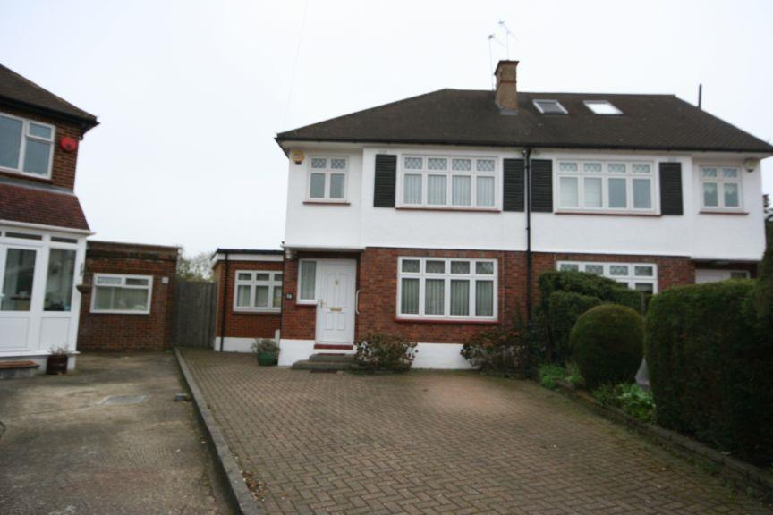 3 Bedrooms Semi Detached House for sale in Palace Court, Kenton HA3 0SN