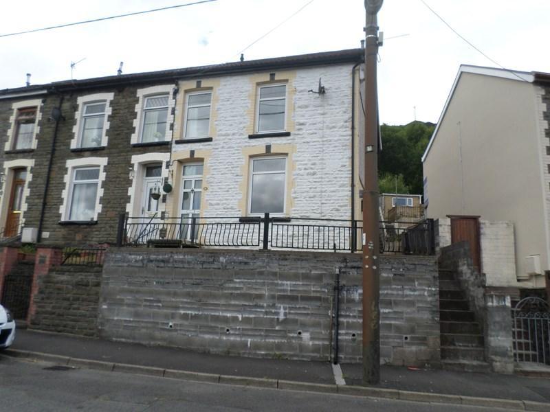 3 Bedrooms End Of Terrace House for sale in Tanybryn Terrace, Pontygwaith, Ferndale