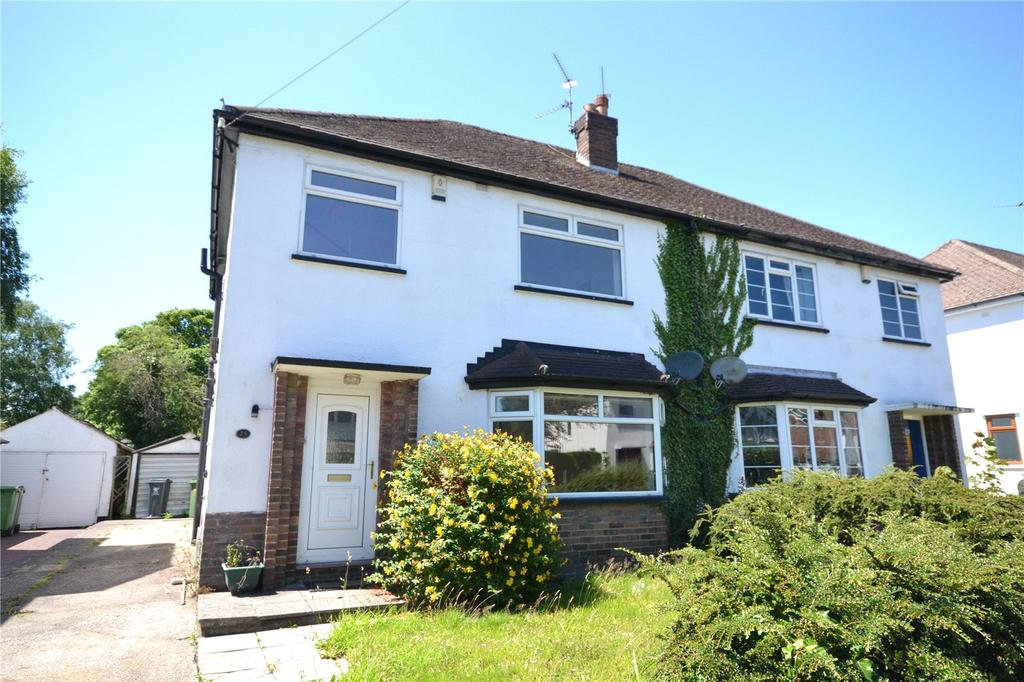 3 Bedrooms Semi Detached House for sale in Cae Mawr Road, Rhiwbina, Cardiff, CF14