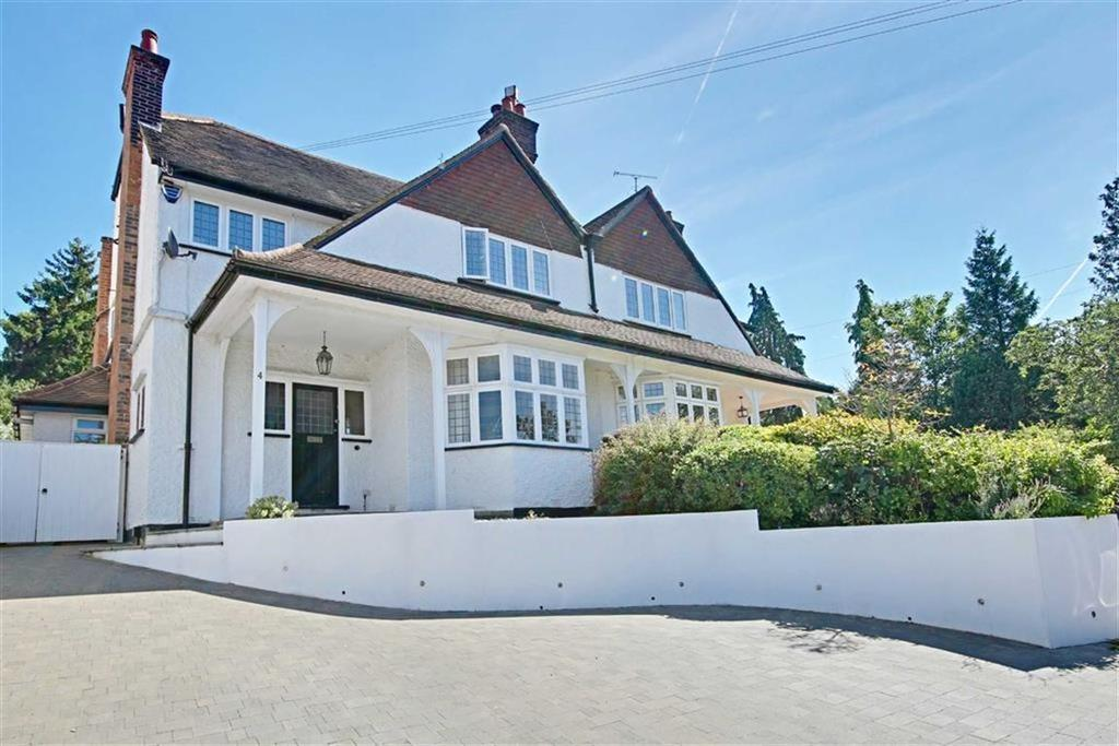 5 Bedrooms Semi Detached House for sale in Radlett Park Road, Radlett, Herts