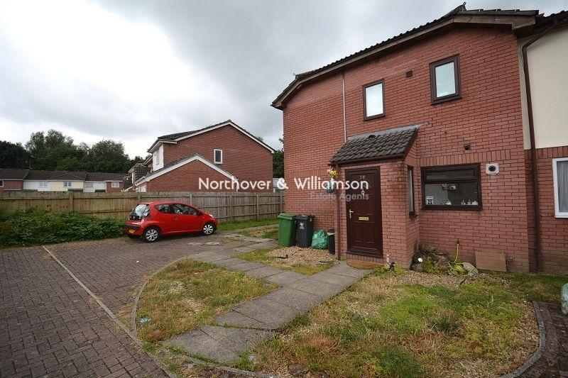 1 Bedroom End Of Terrace House for sale in Orchid Close, St. Mellons, Cardiff. CF3